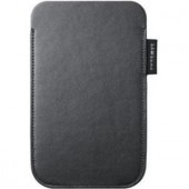 Samsung Galaxy S II Leather Pouch Black (husa) (EF-C1A2PBECSTD)