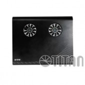 Stand-cooler Titan G3TZ for notebooks 15inch, 2xZ bearing fans, Black (TTC-G3TZ)