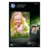 Hartie HP Everyday Semi-Glossy Photo  175 g/m²-10 x 15 cm plus tab/100 coli (Q5441A)