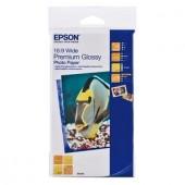 Hartie Epson Premium Glossy Photo, 16:9 Breitformat, 255g/m², 20 coli (C13S042109)