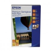 Hartie Epson Premium Semigloss Photo, 100 x 150 mm, 251g/m², 20 coli (C13S042054)