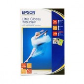 Hartie Epson Ultra Glossy Photo, 100 x 150 mm, 300g/m², 50 coli (C13S041943)