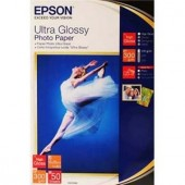 Hartie Epson Ultra Glossy Photo, 100 x 150 mm, 300g/m², 20 coli (C13S041926)