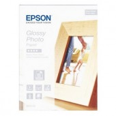 Hartie Epson Glossy Photo 130 x 180 mm, 225g/m², 40 coli (C13S042156)