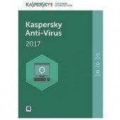 Kaspersky AntiVirus European Edition 3-Desktop 1-An Base License Pack (KL1171XCCFS)