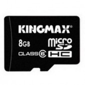 Memorie flash card KINGMAX KM-Micro-SD6/8G 8GB Secure Digital microSDHC Class 6