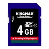 Memorie flash card KINGMAX KM-SD4/4G 4GB Secure Digital SDHC Class 4