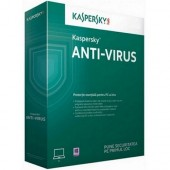 Kaspersky AntiVirus Eastern Europe Edition. 1-Desktop 15-luni Base BOX (KL1171OBABS)