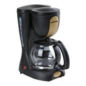Cafetiera Heinner Intense 301, Sistem anti-picurare, Putere 980W, negru cu auriu  (CA-301-GD)