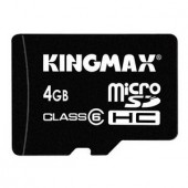 Memorie flash card KINGMAX KM-Micro-SD6/4G 4GB Secure Digital microSDHC Class 6