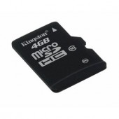 Memorie flash card Kingston SDC10/4GB 4GB microSDHC Class 10