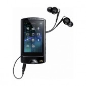 Player MP3 Sony NWZ-A864B, wireless, video, 8GB, ecran tactil LED 2,8inch, negru (NWZA864B.CEW)