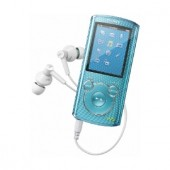 Player MP3 Sony NWZ-E463L, 4GB, video, ecran LED 2inch, Albastru (NWZE463L.CEW)