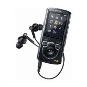 Player MP3 Sony NWZ-E464B, 8GB, video ecran LED 2inch, negru (NWZE464B.CEW)