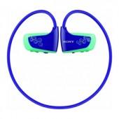 Player MP3 Sony NWZ-W262L 2GB, fără fire, rezistent la apă, albastru (NWZW262L.CEW)
