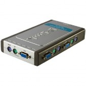 Switch KVM D-LINK Switch pentru 4 PC-uri (DKVM-4K)