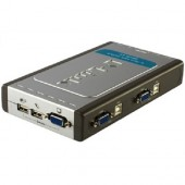 Switch KVM D-LINK USB Switch pentru 4 PC-uri (DKVM-4U)