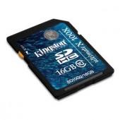Memorie flash card Kingston SD10G2/16GB 16GB SDHC, Class 10
