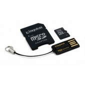 Memorie flash card Kingston MBLY4G2/16GB 16GB Secure Digital microSDHC, Multi Kit, adaptor, reader