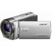 Camera video Sony HDR CX130, zoom optic 30x, fotografii de 3.3MP, LCD de 7,5 cm/3 inch, Full HD, silver (CX130S8GXXDI.EU)