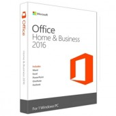 Aplicatie MICROSOFT Office Home and Business 2016 English  (T5D-02374)