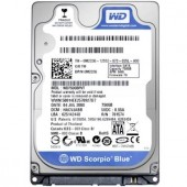 Hard-disk Western Digital  750GB, Scorpio Blue 2.5inch;, 5400rpm, 8MB, 12ms, SATA2, NB, w/ AdvFormat  (WD7500BPVT)