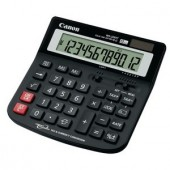 Calculator de birou Canon WS-220TC,12 Digit, Dual Power (BE1582B001AA)