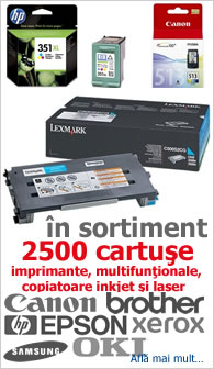 consumabile cartuse toner inkjet laser cartridge imprimante multifunctionale copiatoare
